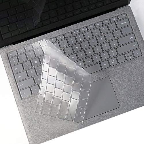 ZZjingli Laptop TPU Waterproof Dustproof Transparent Keyboard Protective Film for Microsoft Surface Book 2 15 inch