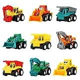 Symiu Macchina Giocattolo Macchinine Set Veicoli Mini Camion Escavatore Bulldozer Dumper R...