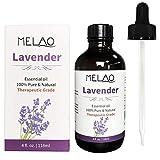 118ML aceite esencial de rosa mosqueta 100% puro orgánico aceite esencial de lavanda Rosa puro cuidado de la piel aceites de masaje corporal o facial (Lavender)