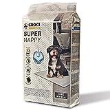 CROCI C6OI0012 - Super Nappy - Tappetini assorbenti per cani, 90x60 cm, Confezione da 10 pezzi