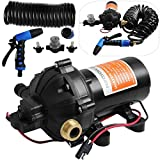 Happybuy RV Water Pump 5.3 GPM Washdown Pump Kit review
