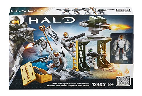 Halo Kit de Construction UNSC Victor Squad (Mattel CNK26)