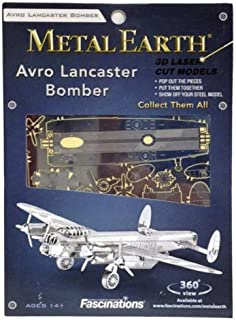 Fascinations Metal Earth 3D Laser Cut Model - Avro Lancaster Bomber