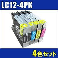 【5セット】 【ブラザーBROTHER純正互換インク】 LC12-4PK(4色セット)*5セット【ブラザー(BROTHER)】