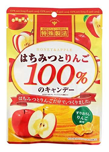 扇雀飴 はちみつとりんご100%のキャンデー 50g×5袋