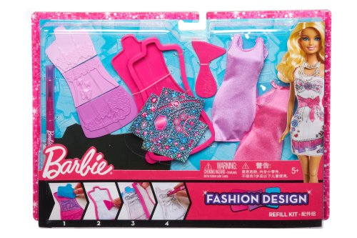 Barbie - X7894 - Poupée - Kit de Mode Glam