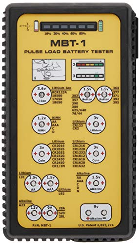 ZTS Inc. MBT-1 Multi-Battery Tester for More than 30 Different Battery Types.