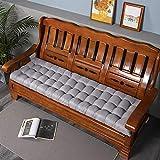 <span class='highlight'>Garden</span> Bench Cushion Soft Outdoor <span class='highlight'>Furniture</span> Swing Chair Long Seat Pad Home Office Sofa Pads Patio (48 * 120cm-silver gray)