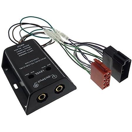 Amplifier 4 Channel High Low Converter Iso Adaptor Rca Elektronik