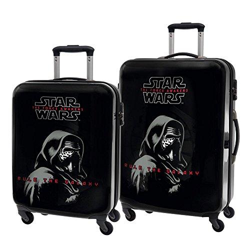 Set 2/ Trolleys Abs 55/69cm. 4r.Star Wars