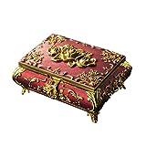Modzye Jewelry Boxes Hand Jewelry Storage Box Jewelry Ring Box Retro Crafts Collection