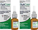 FlutiCare® 120 Metered Nasal Sprays (2 Pack), Fluticasone Propionate 50mcg, Relief During Allergy Season from Pollen, Dust, Dander, Both Indoor and Outdoor Allergens - 2 Month Supply