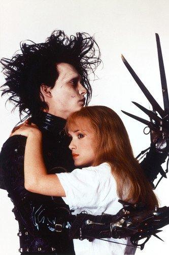 Johnny Depp in Edward Poster avec Winona Ryder 60 x 91 cm