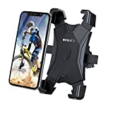 MEIDI Soporte Movil Bicicleta,Universal Soporte de móvil para Moto 360° Rotación Ajustable Anti Vibración para Samsung s10 S9 S8 S7,iPhone 6 7 8 9 X 11 12 Pro MAX, Huawei 4.7'-6.5' Smartphones