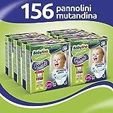 Babylino Sensitive Pants Junior, 156 Pannolini Mutandina Taglia 5 (10-16Kg)