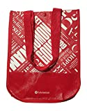 Lululemon 20th Anniversary Reusable Lunch Tote & Carryall Gym Bag - Collapsible, Waterproof, Eco-Friendly, Small, Red