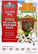 Orgran Gluten Free Rice & Corn Vegetable Animal Shapes Pasta 200 g