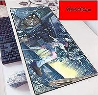 マウスパッドマジックによって禁止された本スピードゲームマウスパッド| XXLマウスパッド| 900 x 400mm大型|完璧な精度とスピード B