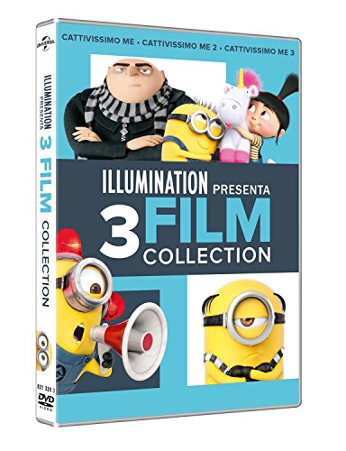 Cattivissimo Me 1,2,3 Collection (Box 3 Dvd)