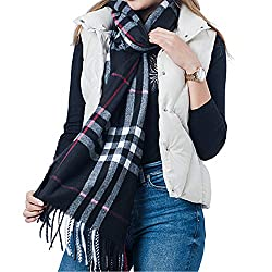 Grab Offers Mens and Womens Casual Soft and Warm Woollen Muffler for Winter (Random Colours, Medium)