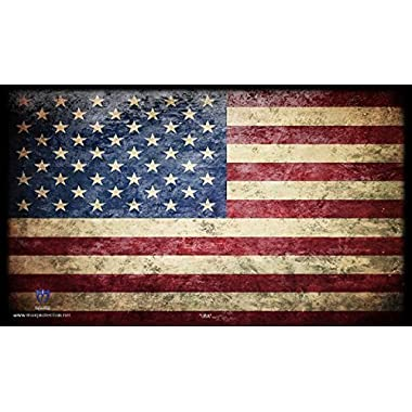 USA AMERICAN FLAG - Mat Trading Card Playmat for Magic the Gathering, Pokemon, , Yu-Gi-Oh!, and Cardfight Vanguard Cards AMERICA - By MAX PRO