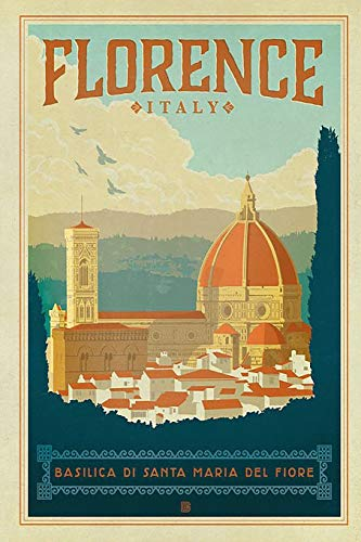 Florence: 2019 Organizer Daily Weekly & Monthly Calendar Planner (Italy Tuscany)