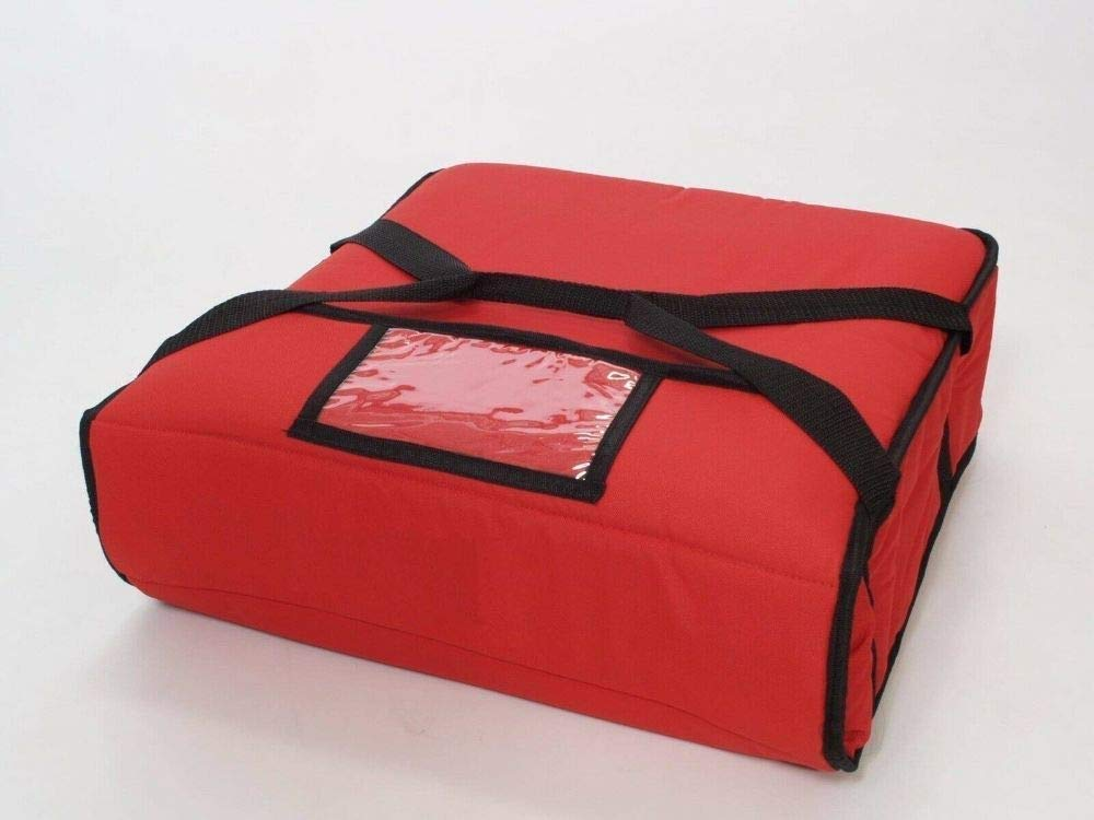Pizza High quality new Delivery Red Bag Thick Insulated - up to Two Daily bargain sale 16
