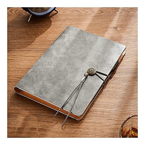 Diario de Cuaderno Diario de Cuero Espiral de diseño único de 6.6 Pulgadas x 9.1 Pulgadas, Adecuado para escuelas, universidades, oficinas y hogares Bloc de Notas de Papel Grueso de Primera Calidad