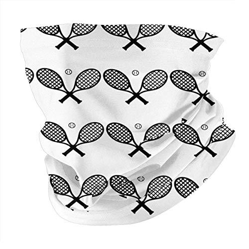 N/W Pañuelo para raqueta de tenis, cuello de bola, variedad de bandanas, pasamontañas