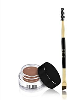Milani Stay Put Brow Color, 01 Soft Brown (Pack of 2)