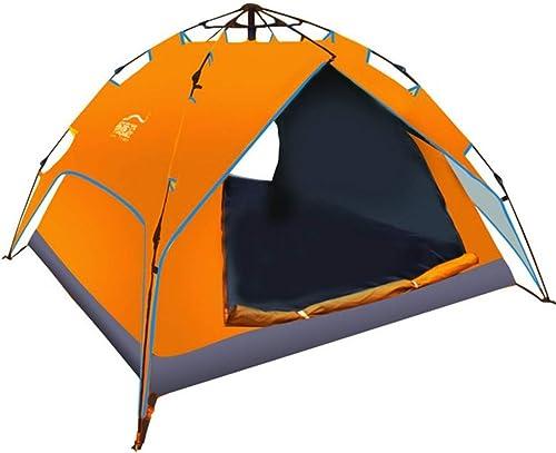 ZHPPRODUCT Tente Populaire De Camping De Plein Air De Sports De Plein Air De Tente Extérieure Ouverte De Sports en Plein Air, Imperméable (Couleur   Orange)