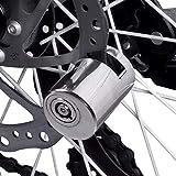 Disc Brake Lock, 1pc Stainless Steel Motorcycle Locomotive Disc Brake Lock Waterproof Bicycle