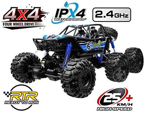 Unbekannt RC Rock Crawler SUPER Scorpion 6x6 Allrad Ferngesteuerter Monster Truck 2,4 Ghz.