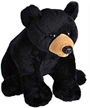 Wild Republic Wild Calls Black Bear, Authentic Animal Sound, Stuffed Animal, Eight Inches, Gift for Kids, Plush Toy, Fill ...