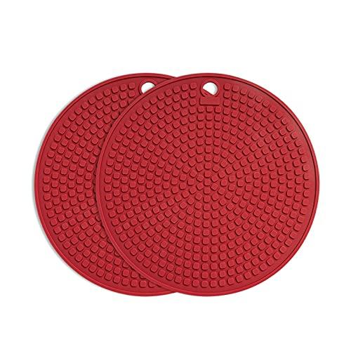 Posavasos Beber Coster Color Redondo Coaster Silicona Fácil de limpiar Sin deslizamiento Protección de escritorio resistente al desgaste y almohadilla de aislamiento térmico Conjunto de 4 piezas Drink