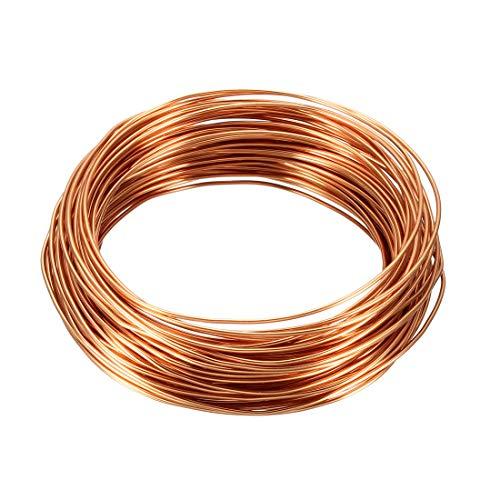 """sourcing map 1.0mm diám. Cable de cobre esmaltado para devanado del imán de longitud 49,2"""""""