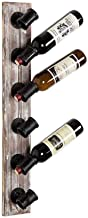 HTTJJ Wall-Mounted Wine Rack - Wine Rack Wall-Mounted - Wall-Mounted Wine Bottle Holder Bottles of Your Favorite Wine - El...