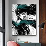 Cuadro en Lienzo Cuadros Decorativos Mural Carteles e Impresiones Belleza Mujer niña Lienzo Pintura Moderna Pared Arte Imagen para Sala de Estar decoración del hogar