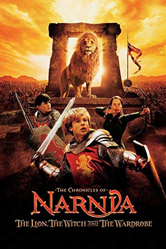 194Tdfc Toys -The Chronicles Of Narnia Adult Puzzle 1000 Pieces 3D Wooden Puzzle Children 8 Years Old Diy Decompression Toy Movie Poster Birthday Gift Parent-Child Education(75X50Cm)