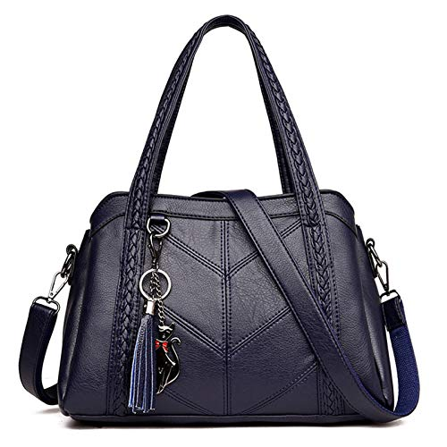 Bolsos de lujo para mujer, bolsos de hombro cruzados para mujer, bolsos y bolsos de piel sintética