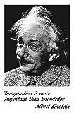 Albert Einstein - Imagination - Plakat Druck Poster