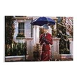 Póster de Mary Poppins Returns, Emily Blunt, 1 póster de película decorativo en lienzo para pared, para sala de estar, dormitorio, 60 x 90 cm