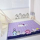 Zinsale® Grande Addensare Baby Playmat cotone Palestra del pavimento Asilo nido Pad attività Tappeto strisciante (Città da sogno)