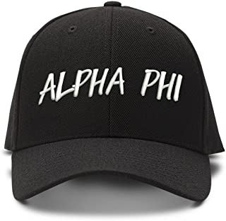 The Turnipseed Co Alpha Phi Casual Block Low Profile Dad Hat Cap
