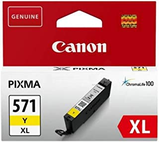 Canon (CPF6A) CLI651XLY High Yield Ink Cartridge, Yellow