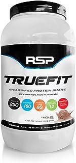 【国内正規品】RSP TrueFit ホエイプロテイン パウダー グラスフェッド プロテインシェイク [チョコレート風味] (.9kg) 2ポンド
