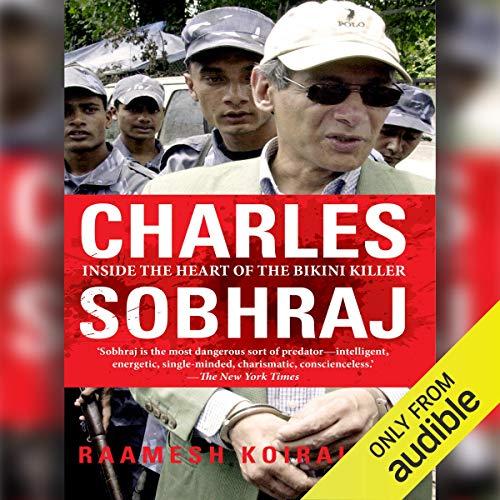 Charles Sobhraj audiobook cover art