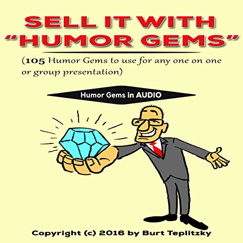 "Sell It With ""Humor Gems"" audiobook cover art"