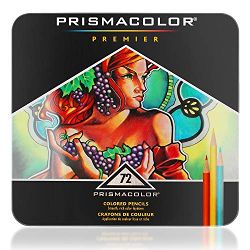 Premier Colored Pencils Soft Core 72 Pack