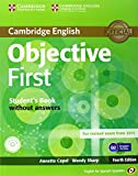 Objective First for Spanish Speakers Student's Book without Answers with CD-ROM with 100 Writing Tips 4th Edition